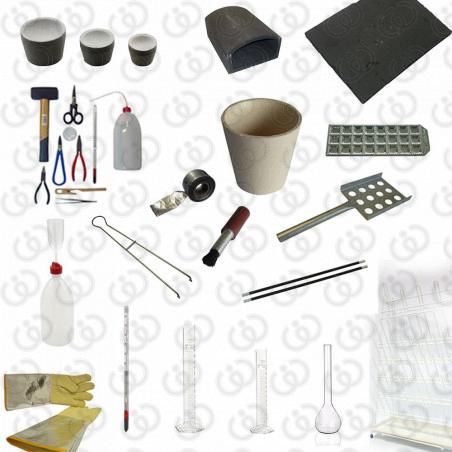 Test laboratory consumables kit