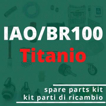 Spare parts IAO/BR100 Titanium