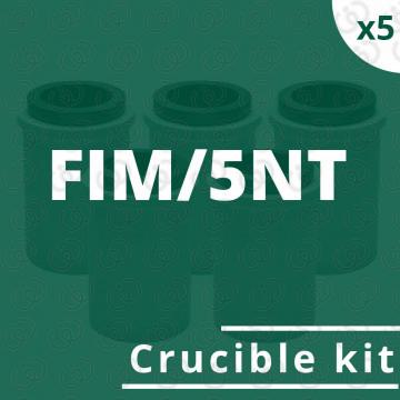 kit 5 crogioli per FIM/5NT