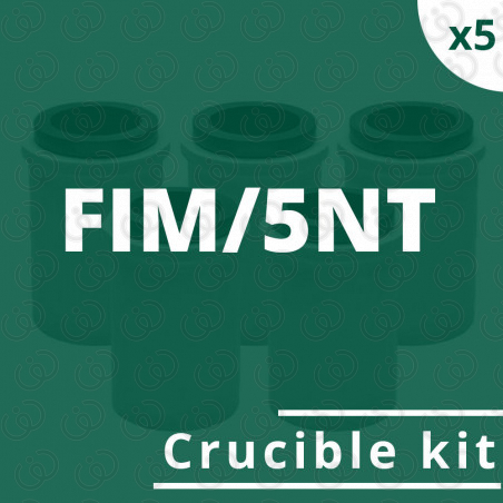FIM/5NT crucible 5 kit