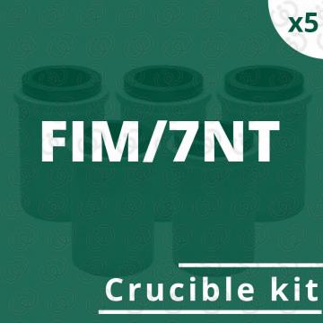 Kit 5 crogioli per FIM/7NT
