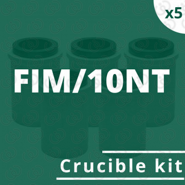 FIM/10NT crucible 5 kit