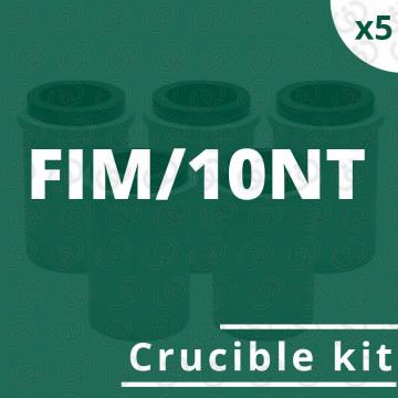 Kit 5 crogioli per FIM/10NT