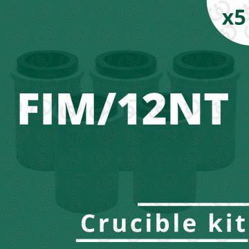 Kit 5 crogioli per FIM/12NT