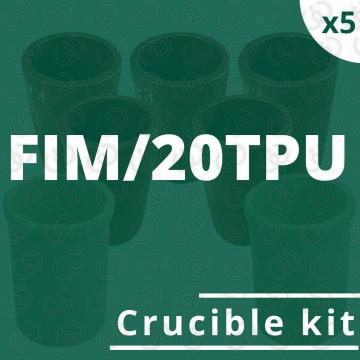 Kit 5 crogioli per FIM/20TPU