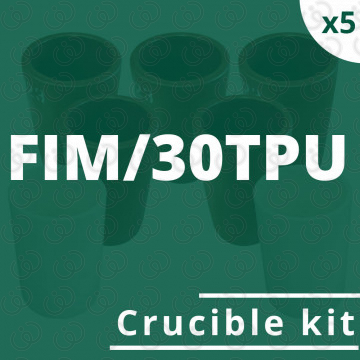 Kit 5 crogioli per FIM/30TPU
