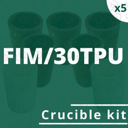 FIM/30TPU crucible 5 kit