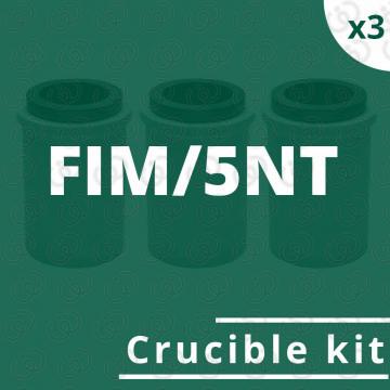 kit crogioli per FIM/5NT