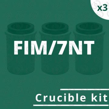 Kit crogioli per FIM/7NT