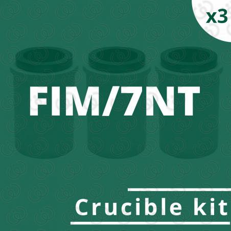 FIM/7NT crucible kit