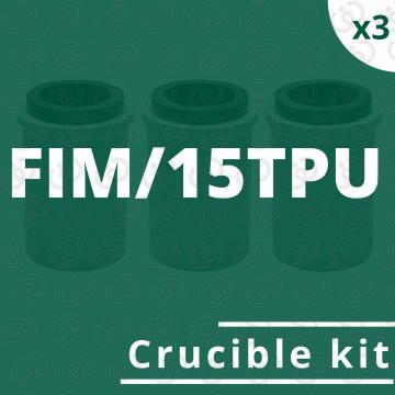 Kit crogioli per FIM/15TPU