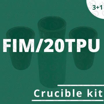 Kit crogioli per FIM/20TPU