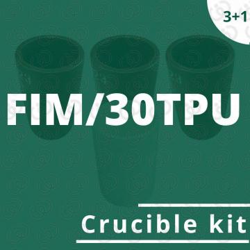 Kit crogioli per FIM/30TPU