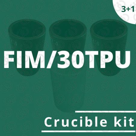 FIM/30TPU crucible kit