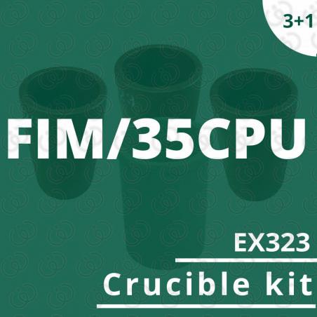 FIM/35CPU crucible EX323 kit