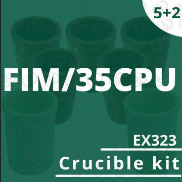 FIM/35CPU 5 crucible EX323 kit