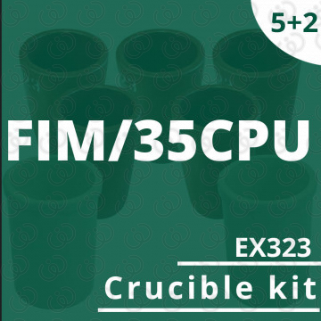Kit 5 crogioli EX323 per...
