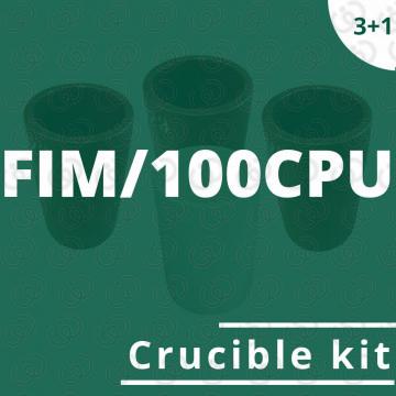 FIM/100CPU crucible kit