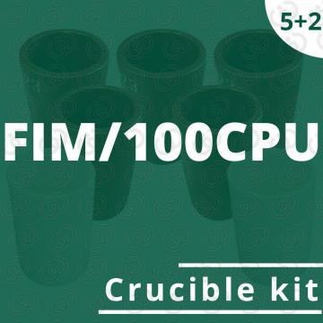 Kit 5 crogioli per FIM/100CPU