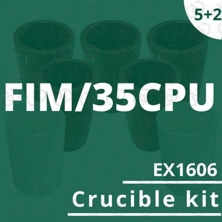 FIM/35CPU crucible 5 EX1606 kit