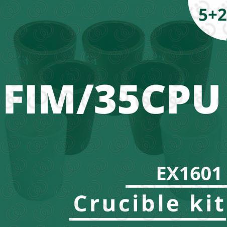 FIM/35CPU crucible 5 EX1601 kit