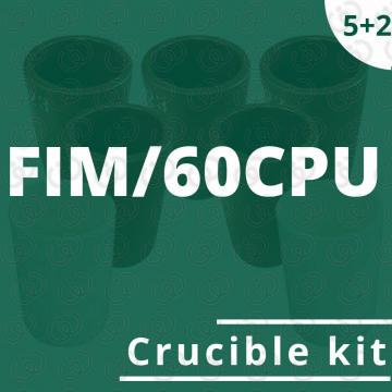 FIM/60CPU crucible 5 kit