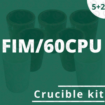 Kit 5 crogioli per FIM/60CPU