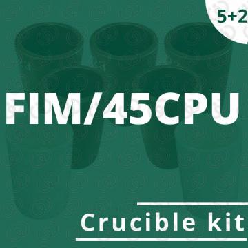 Kit 5 crogioli per FIM/45CPU