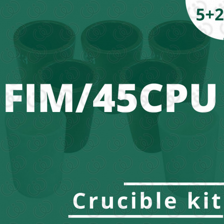 FIM/45CPU crucible 5 kit