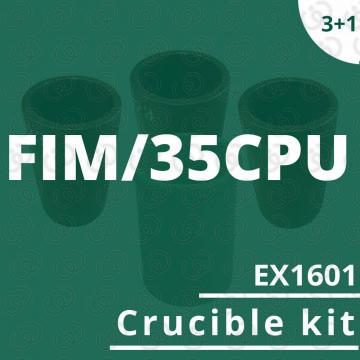 Kit crogioli EX1601 per...