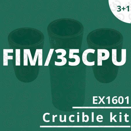 FIM/35CPU crucible EX1601 kit