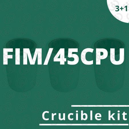FIM/45CPU crucible kit
