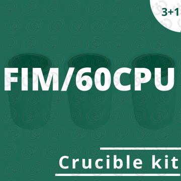 Kit crogioli per FIM/60CPU