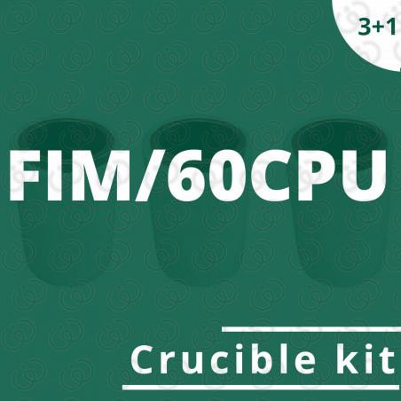 FIM/60CPU crucible kit