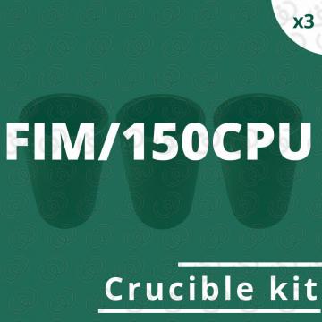 FIM/150CPU crucible kit