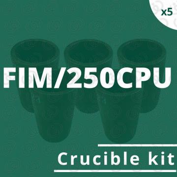 Kit 5 crogioli per FIM/250CPU