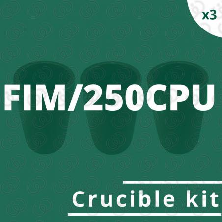 FIM/250CPU crucible kit