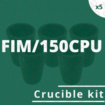 FIM/150CPU crucible 5 kit