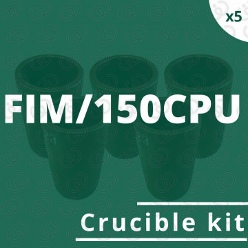 Kit 5 crogioli per FIM/150CPU