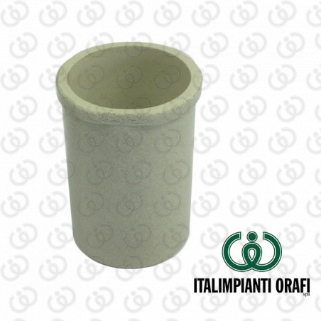 Ceramic Container with Rim (Cylindrical)