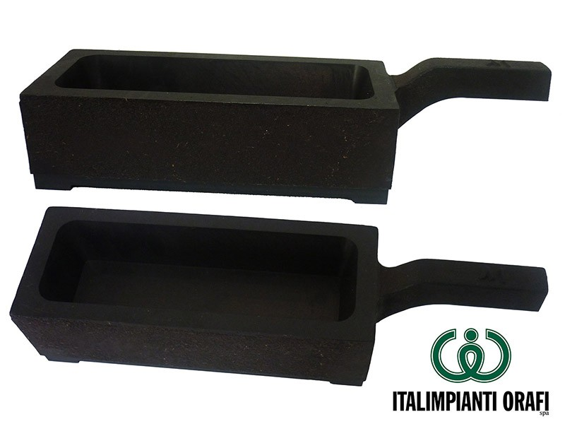 Cast Iron Ingot Molds with Handle   Italimpianti Orafi