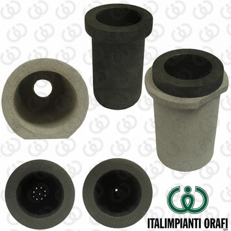 Drilled Graphite Crucibles (Grain Production)