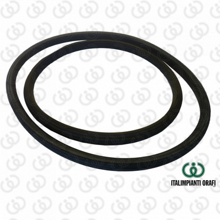 Black Rubber Gasket for Investment Mixing Machine